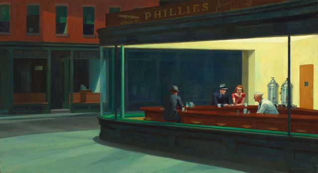 Edward Hopper liked his walls of light