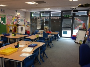 Sheringham Primary school, Year 1 classroom