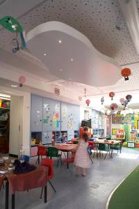 Ashmole primary school new nursery. Photograph: Charlotte Wood.