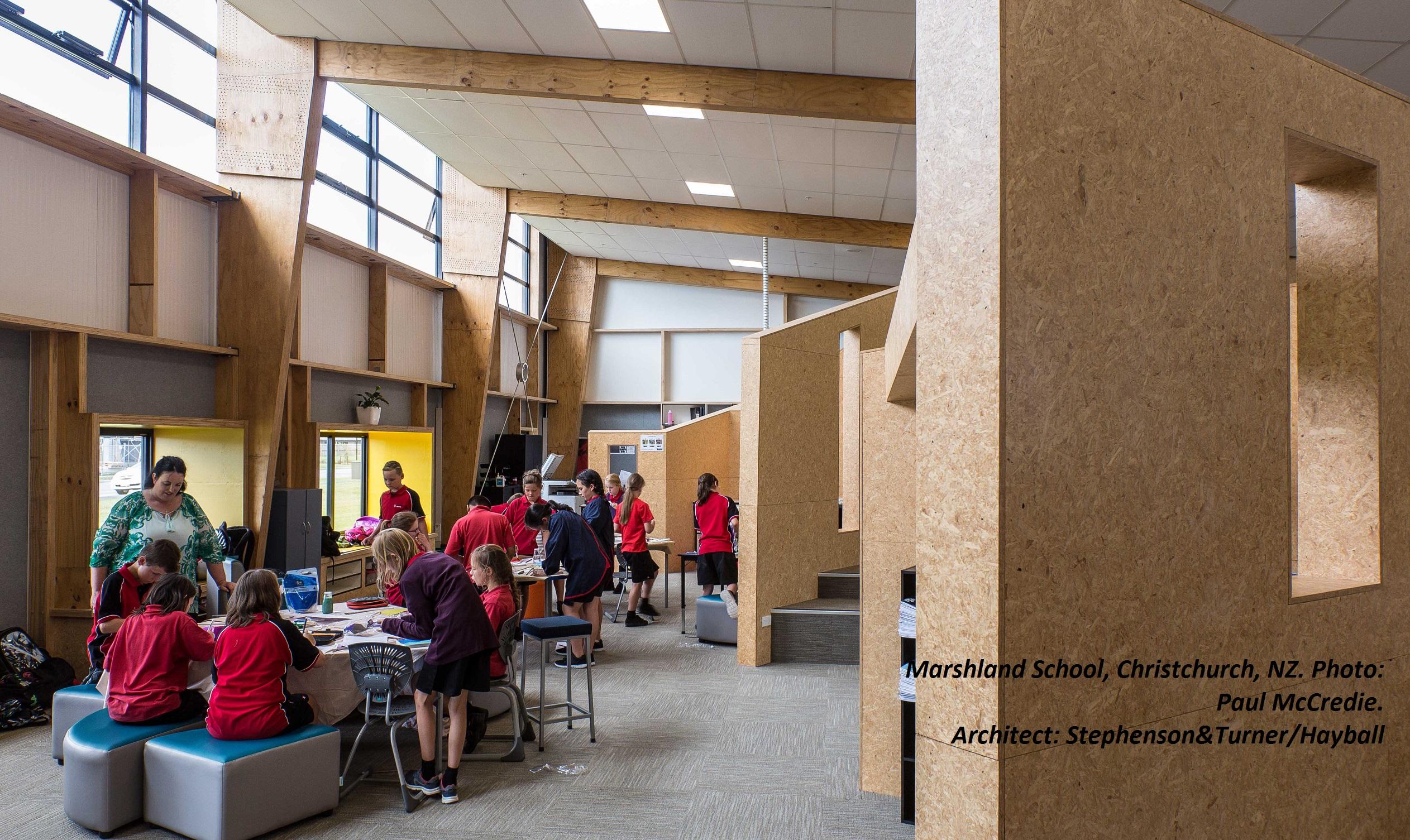 Transitions inhabiting innovative learning environments