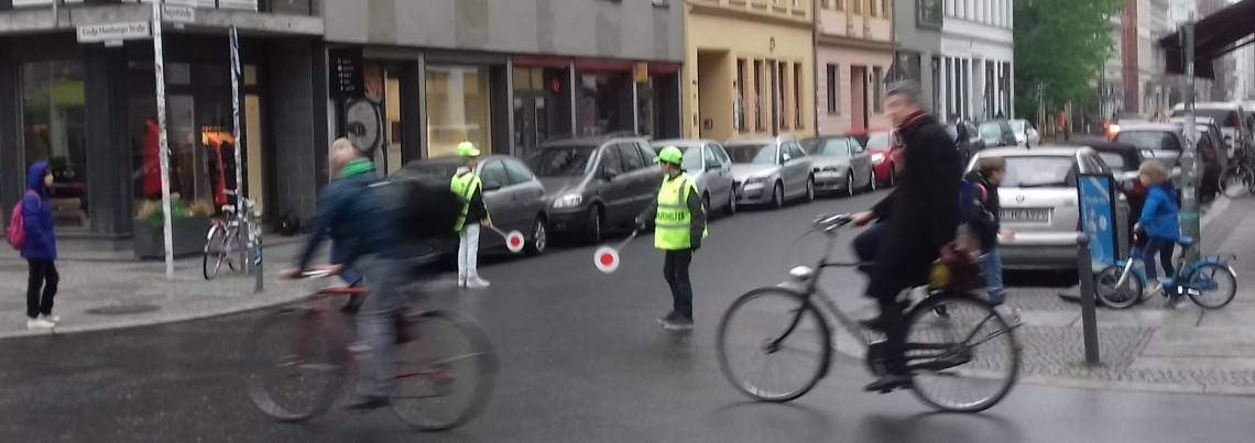 Children Directing Traffic