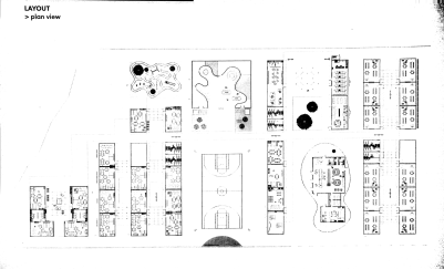 Fig 3 Later plan developed atelier